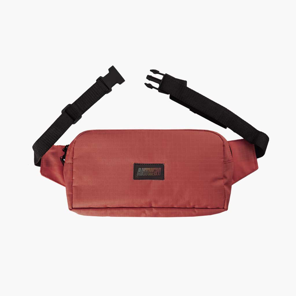 Anthem Brand Mark Pouch Marsupio con Patch Anthem Colore Cassis