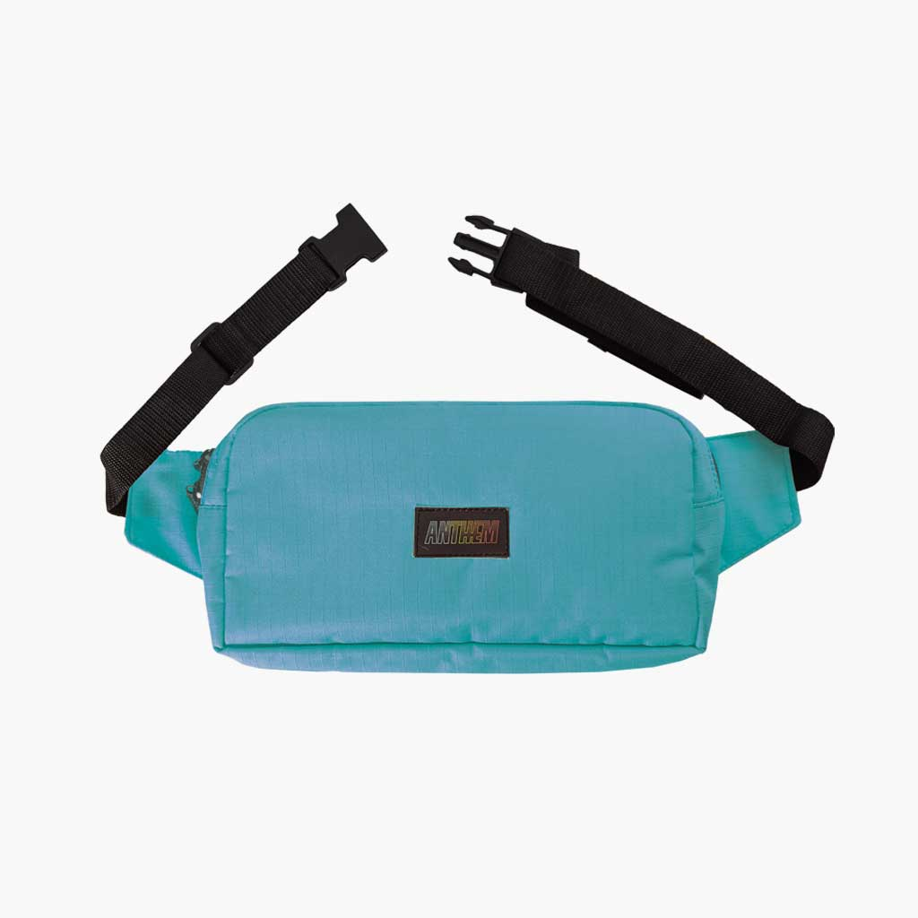 Anthem Brand Mark Pouch Marsupio con Patch Anthem Colore Teal