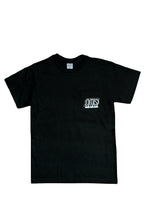 Load image into Gallery viewer, Hug Pocket Tee (black)