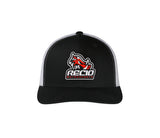 HOG BLACK/WHITE HAT CB