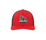 HOG RED/BLACK HAT CB