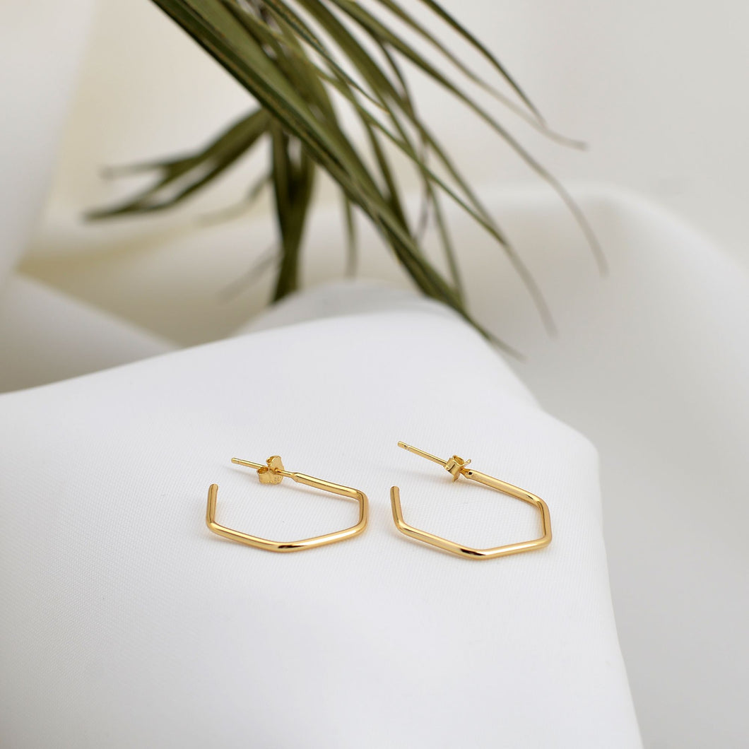 Gold Cape Hope Earrings