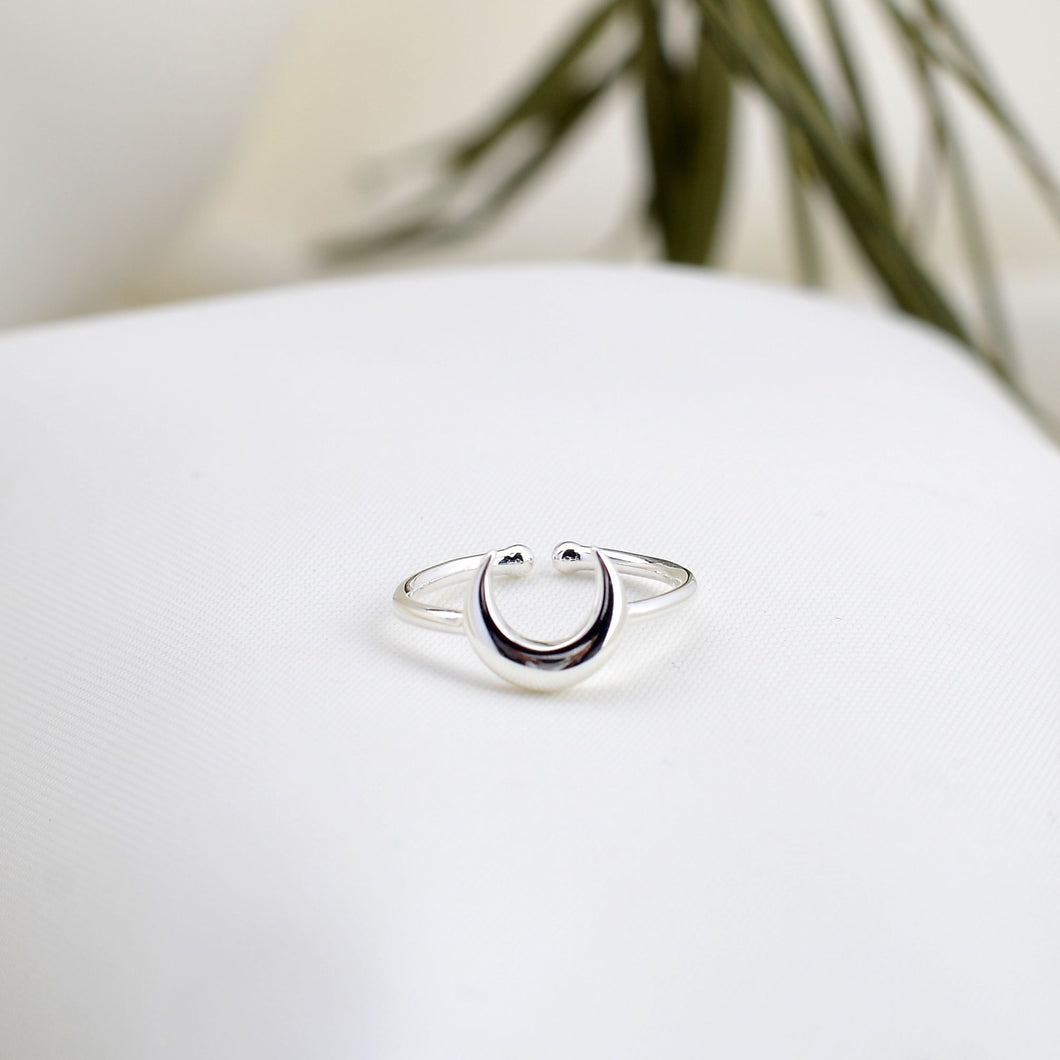 Silver California Ring