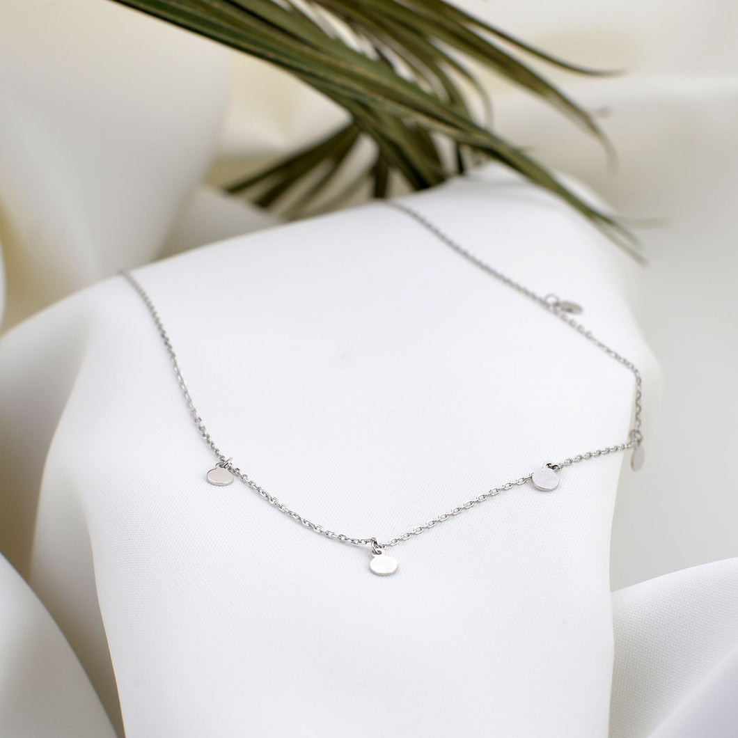 Silver New York Necklace