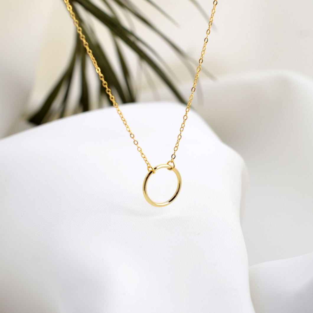 Gold Leone Necklace