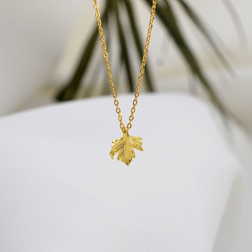 Gold plated 925 sterling silver necklace