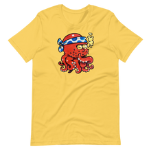 Load image into Gallery viewer, Red samurai octopus Short-Sleeve Unisex T-Shirt