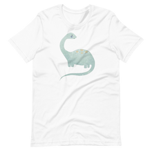 Load image into Gallery viewer, Dino dinosaur in watercolor Short-Sleeve Unisex T-Shirt