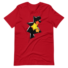 Load image into Gallery viewer, Graffiti of stars and cracked wall Short-Sleeve Unisex T-Shirt