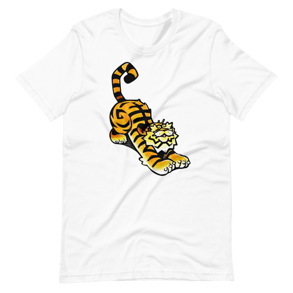 Smiling asian bengal tiger Short-Sleeve Unisex T-Shirt