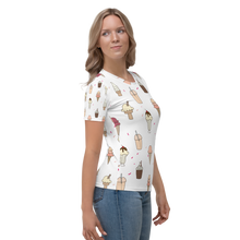 Load image into Gallery viewer, Ice creams pattern Women's T-shirt