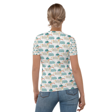 Load image into Gallery viewer, Clouds pattern Women's T-shirt