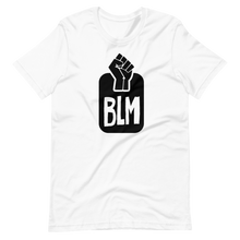 Load image into Gallery viewer, Black Lives Matter Hand Short-Sleeve Unisex T-Shirt