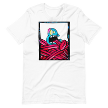 Load image into Gallery viewer, Creature with long tongue Short-Sleeve Unisex T-Shirt