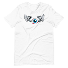 Load image into Gallery viewer, Winged eyeball Short-Sleeve Unisex T-Shirt