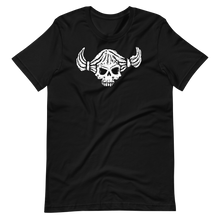 Load image into Gallery viewer, Female skull face with pigtails Short-Sleeve Unisex T-Shirt