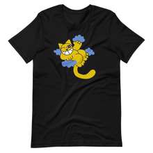 Load image into Gallery viewer, Cat laid on clouds Short-Sleeve Unisex T-Shirt