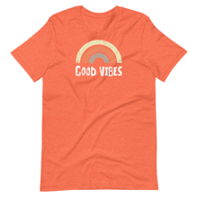 Load image into Gallery viewer, Retro rainbow good vibes Short-Sleeve Unisex T-Shirt