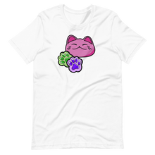 Load image into Gallery viewer, Kawaii neko cat and paws Short-Sleeve Unisex T-Shirt