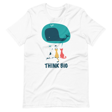 Load image into Gallery viewer, Think big cats and whale Short-Sleeve Unisex T-Shirt