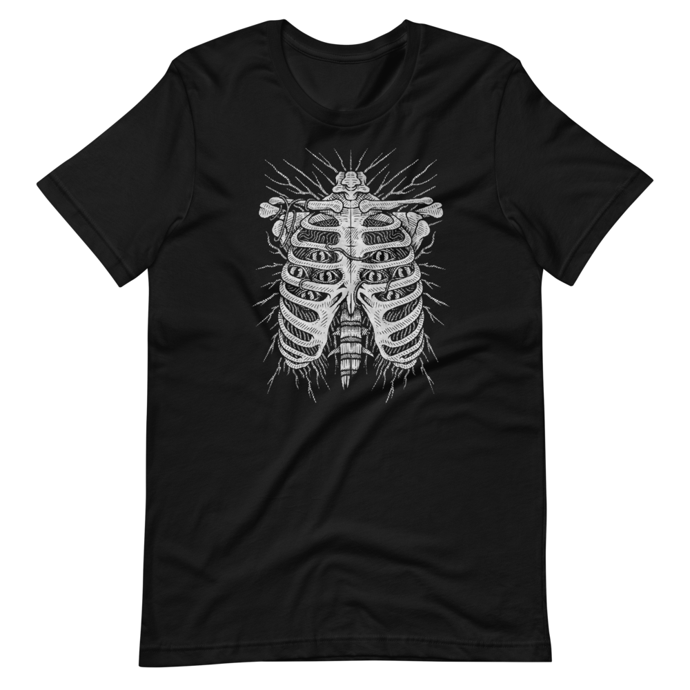 Chest skeleton Short-Sleeve Unisex T-Shirt