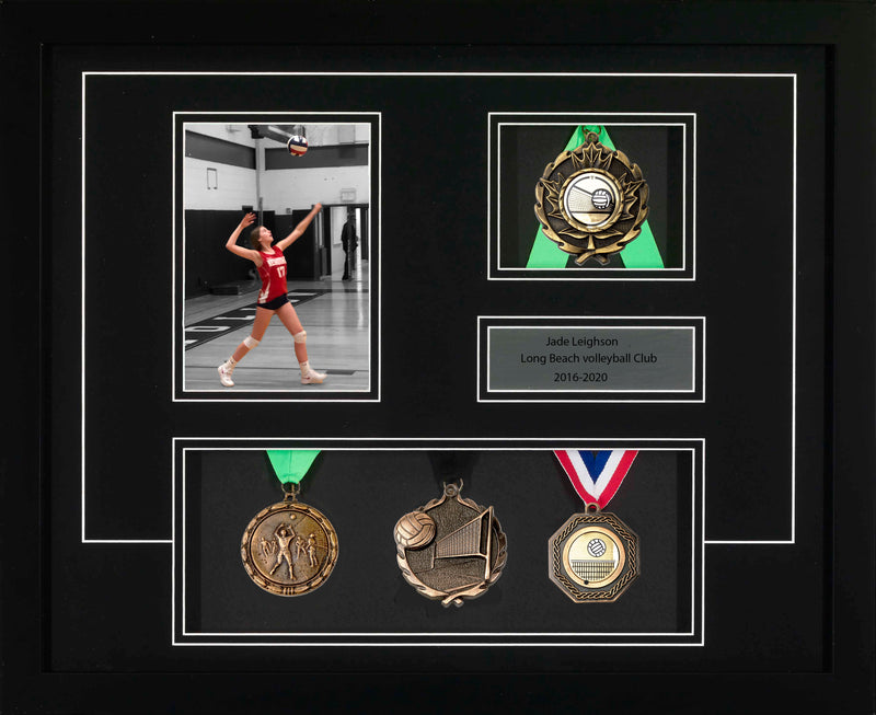 Medal Premium: multi-medal Volleyball