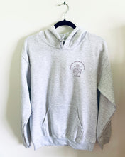 Load image into Gallery viewer, Create- Heather Grey Hooded Sweatshirt