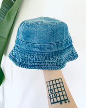 Load image into Gallery viewer, Blue Denim Bucket Hat