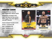 Load image into Gallery viewer, 2020 Topps WWE NXT Wrestling Hobby Box