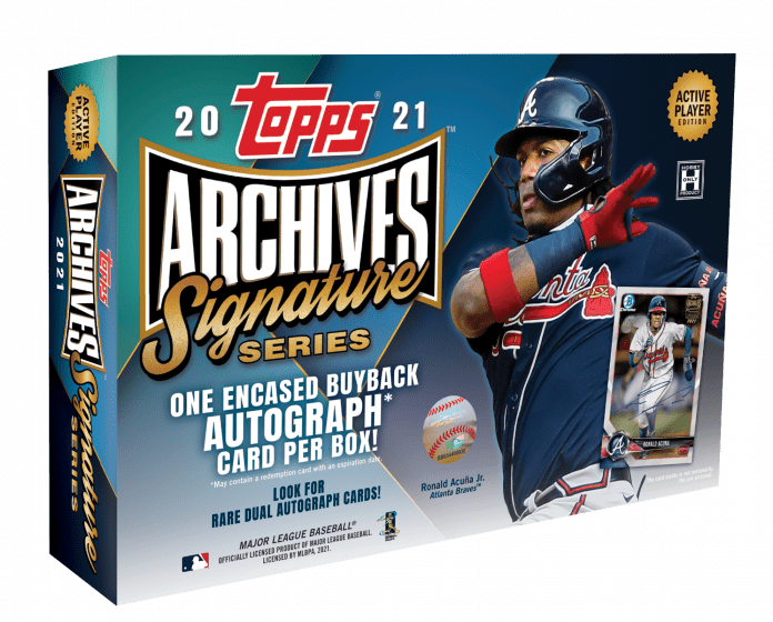 2021 Topps Archive Signature Series