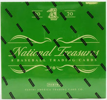 Load image into Gallery viewer, 2020 Panini National Treasures Baseball Hobby Box