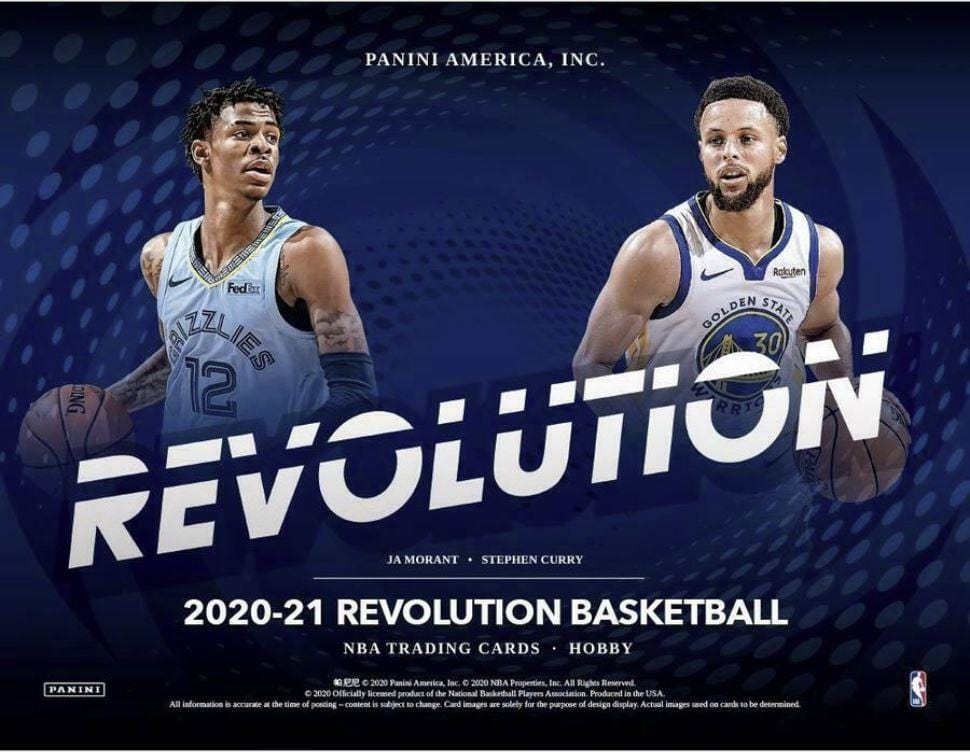 2020-21 Panini Revolution Basketball Packs