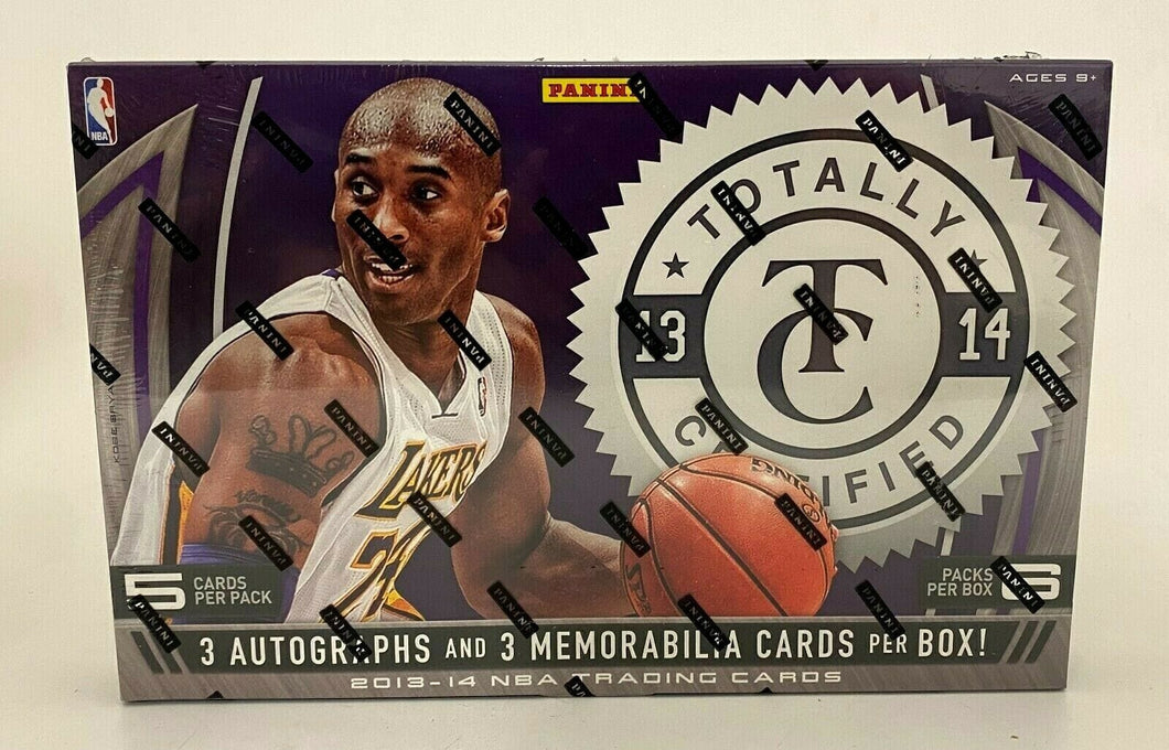 2013/14 Panini Totally Certified Basketball Hobby Packs