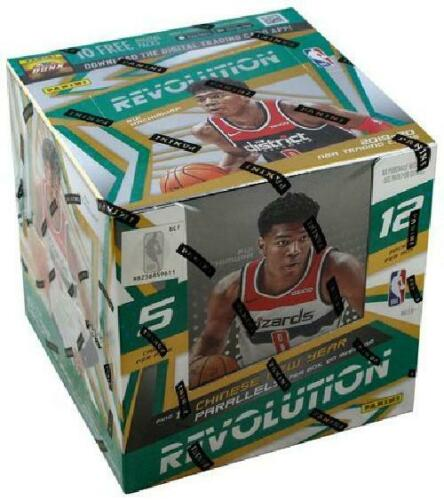 2019/20 Panini Revolution Basketball Hobby Box CNY