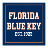 Florida Blue Key Laptop Sticker