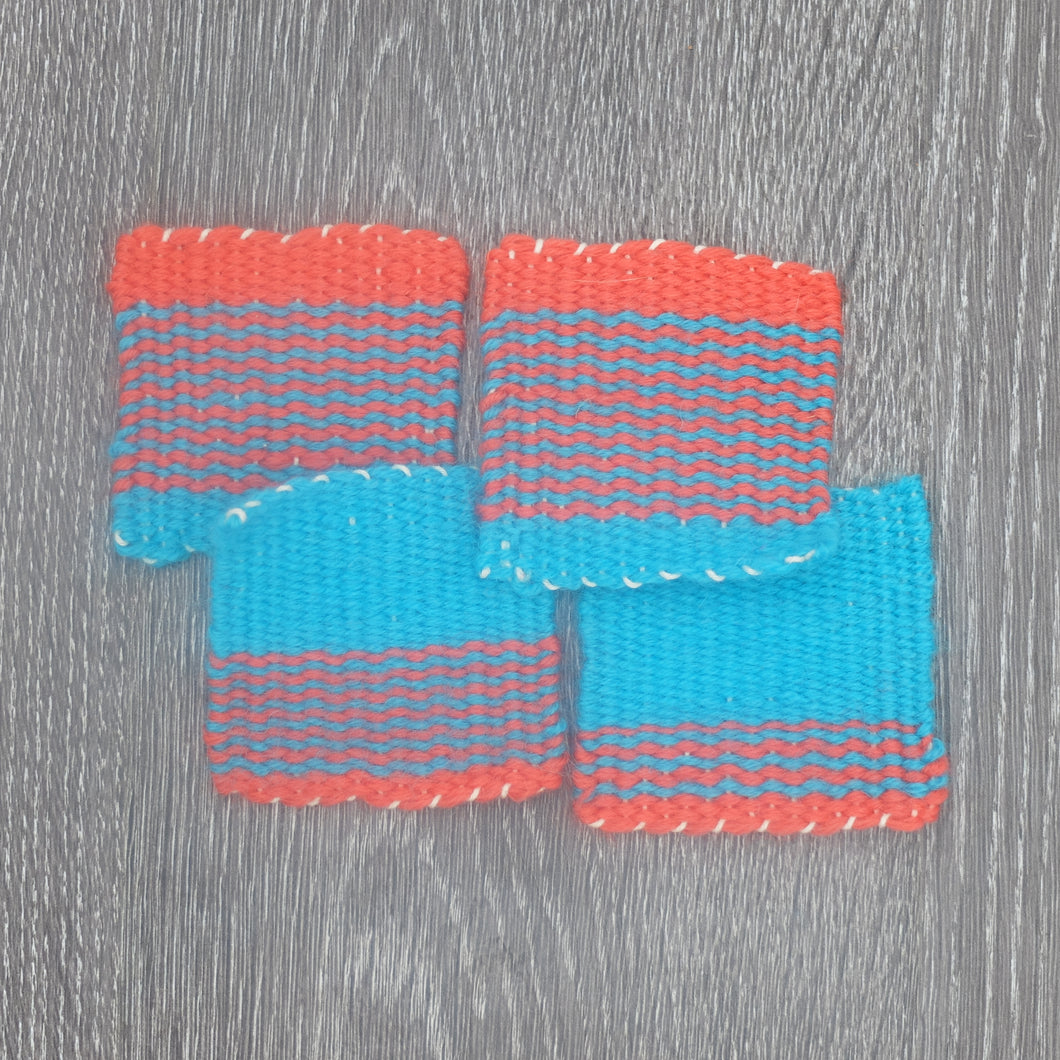 Handwoven Coasters by Gabrielle Trach Designs