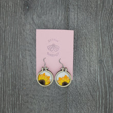 Load image into Gallery viewer, Embroidered Earrings by Gettin Thready