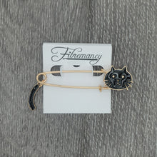 Load image into Gallery viewer, Fibremancy Cat Shawl Pins
