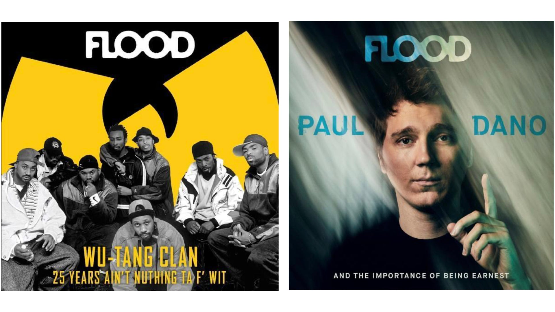 FLOOD 9: Wu-Tang Clan, M.I.A., Paul Dano, and Tenacious D with Rob Rogers