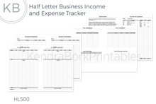 Load image into Gallery viewer, Business Finances Tracker & Cash Flow - Printable