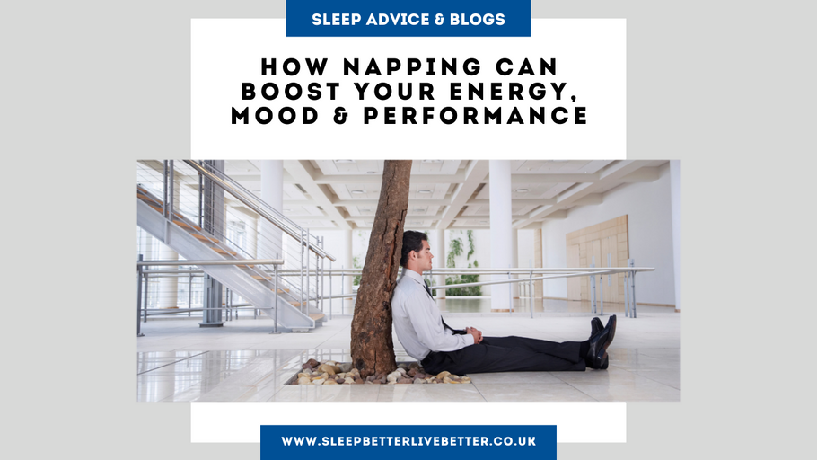 How Napping Can Boost Your Energy, Mood & Performance