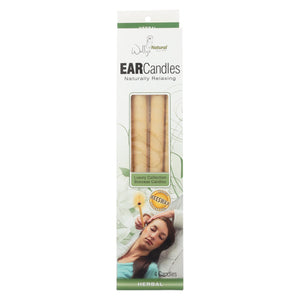 Wally's Ear Candles Herbal Beeswax - 4 Candles