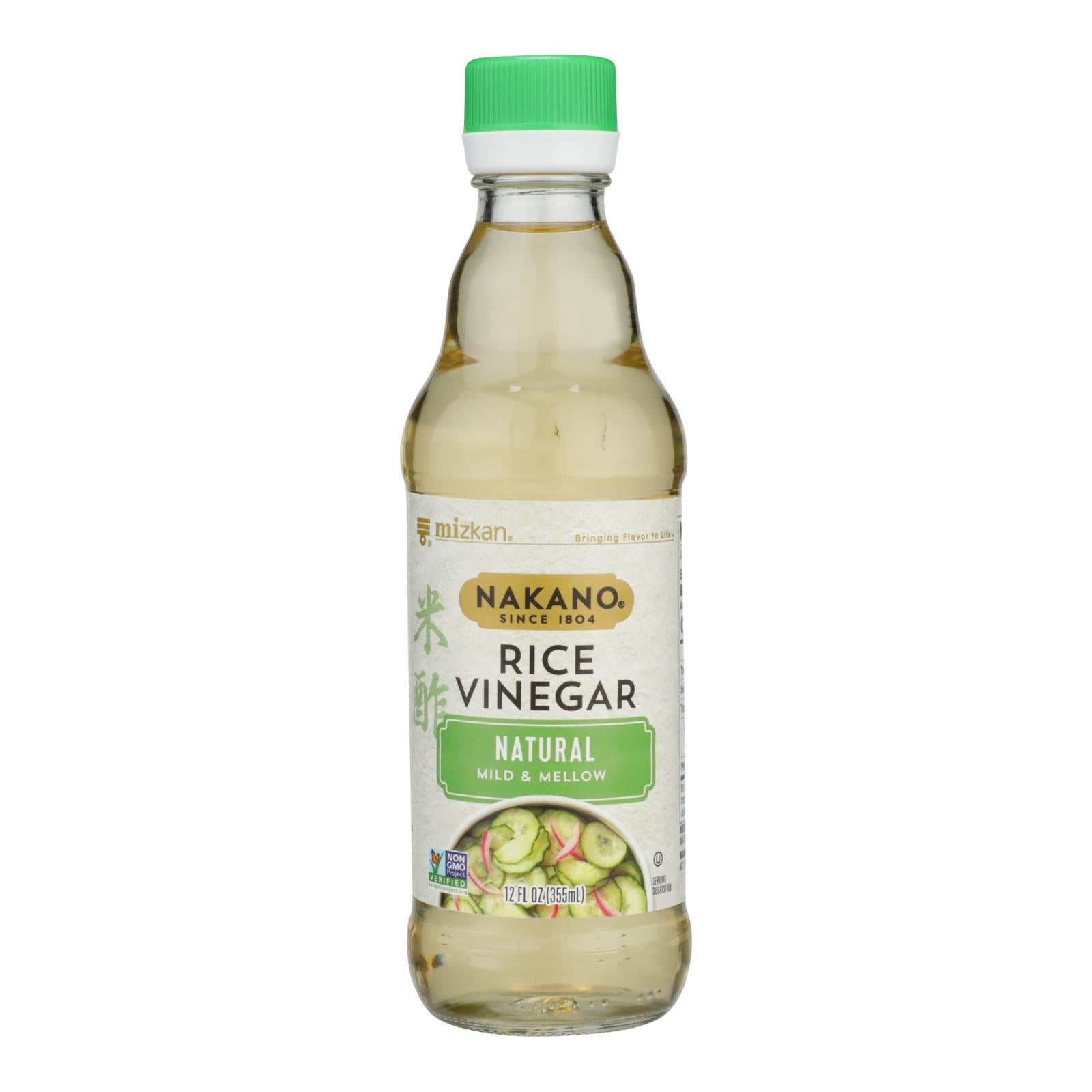 Nakano Rice Vinegar - Vinegar - Case Of 6 - 12 Fl Oz.