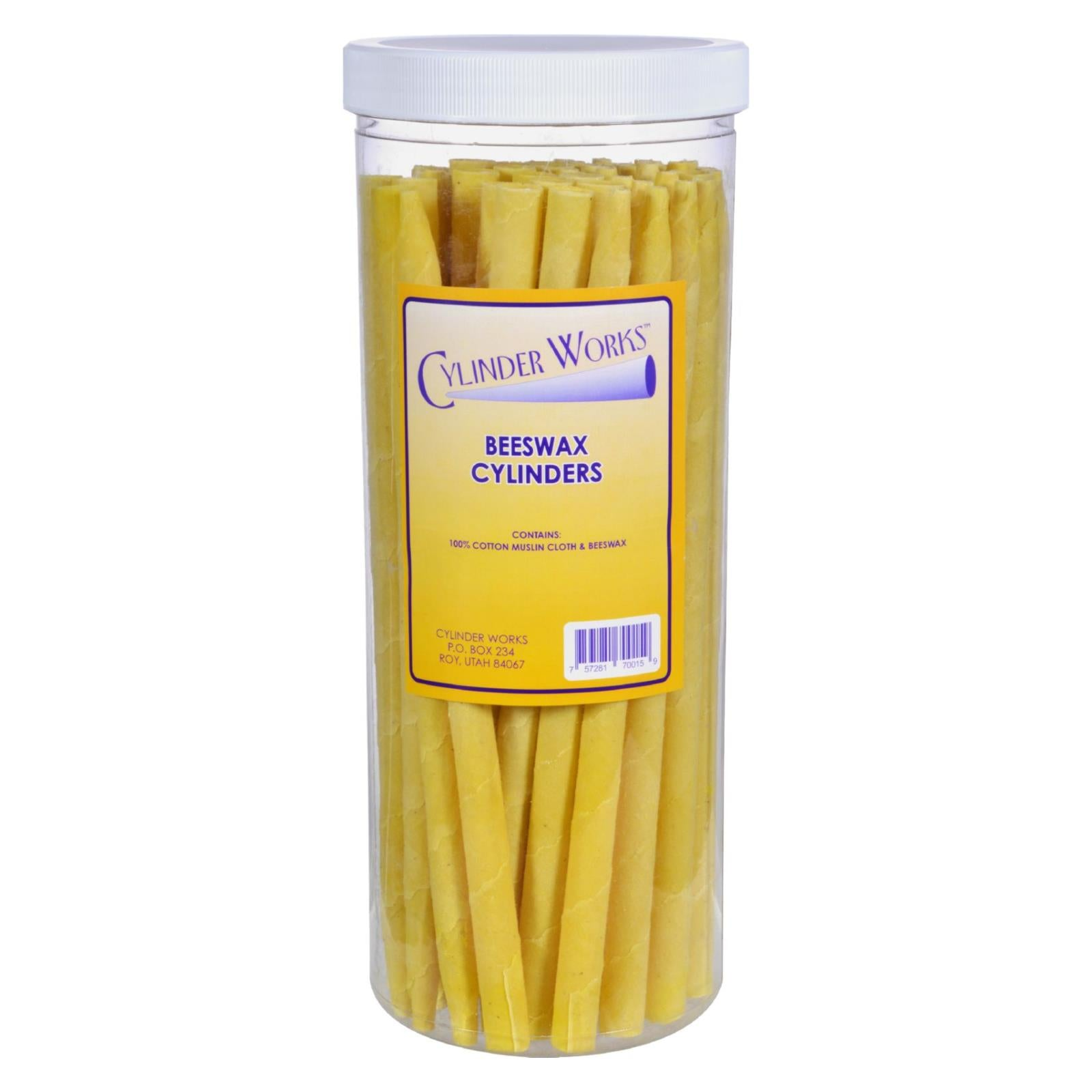 Cylinder Works - Herbal Beeswax Ear Candles - 50 Pack