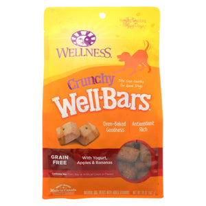Wellness Pet Products Dog Food - Yogurt - Apple And Bananas - Case Of 6 - 20 Oz.
