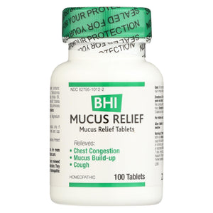 Bhi - Mucus Relief - 100 Tablets