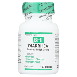 Bhi - Diarrhea Relief - 100 Tablets
