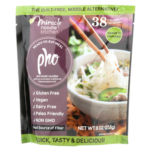 Miracle Noodle Kitchen's Pho Noodles  - Case Of 6 - 8 Oz