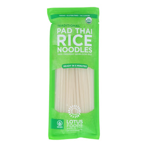 Lotus Foods Noodles - Organic - Traditional Pad Thai - Case Of 8 - 8 Oz