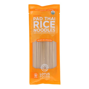 Lotus Foods Noodles - Organic - Brown Rice Pad Thai - Case Of 8 - 8 Oz